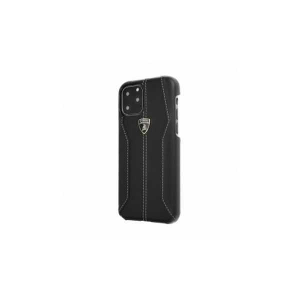 iPhone 11, Originálny zadný kryt, TPU, Elegant, Čierny